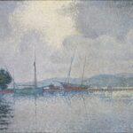 Signac Saint Tropez apres l'orage 1895