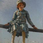 3. Ilya Répine, Libellule, 1884, huile sur toile, Moscou, Galerie nationale Trétiakov